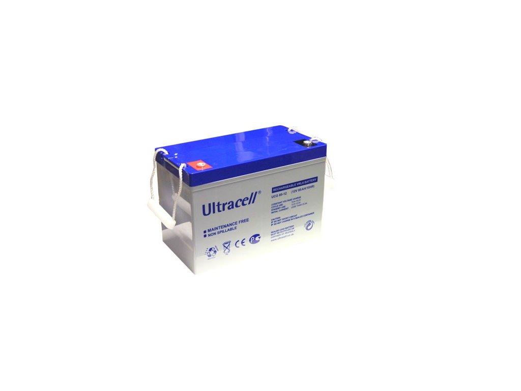 Ultracell UCG85-12 (12V - 85Ah), VRLA-GEL trakční baterie