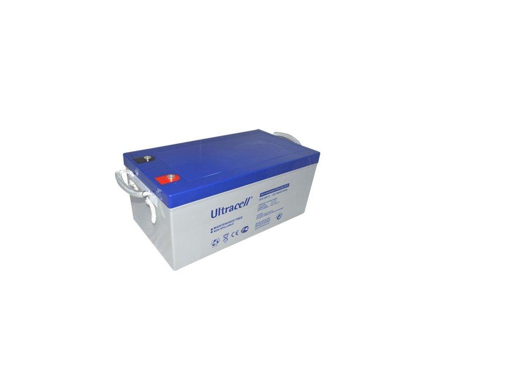 Ultracell UCG250-12 (12V - 250Ah), VRLA-GEL trakční baterie
