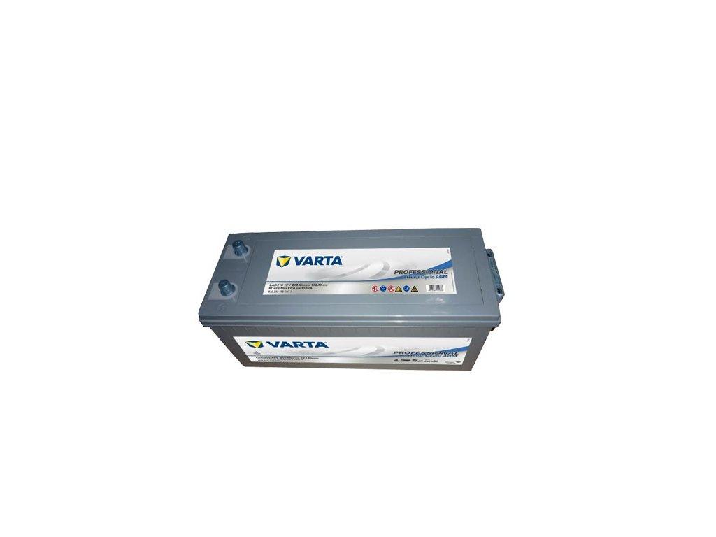 Trakční baterie Varta AGM Professional 830 210 118, 12V - 210Ah, LAD210
