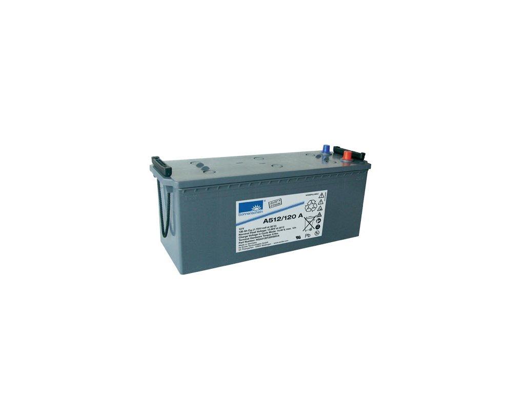 Gelový trakční akumulátor SONNENSCHEIN A512/120 A, 12V, 120Ah