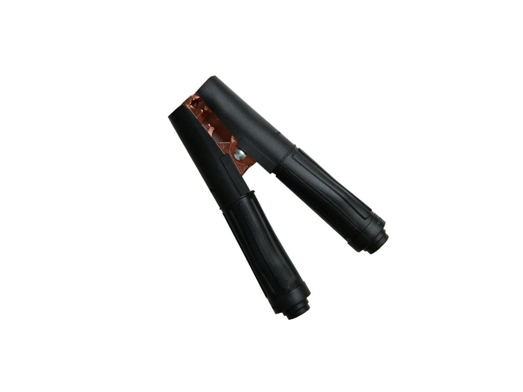 Kleště bateriové 500A, černé, 165mm