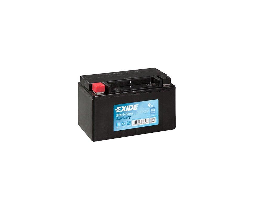 Autobaterie EXIDE START-STOP 12V 9Ah 120A EK091