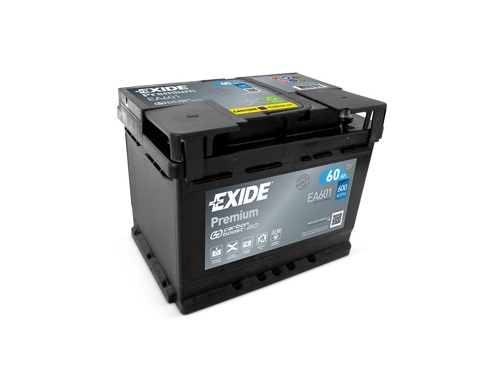 Autobaterie EXIDE Premium 60Ah, 12V, EA601