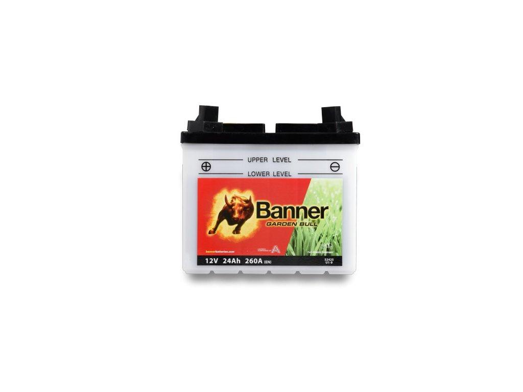 Baterie Banner Garden Bull 52425, U1-9, 24Ah, 12V