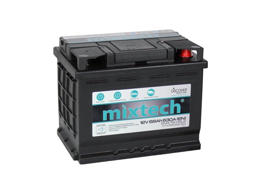 Autobaterie MIXTECH EMX MT68, 68Ah, 12V
