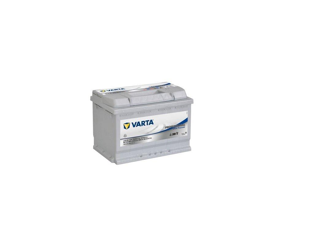 Trakční baterie VARTA Professional Dual Purpose (Deep cycle) 75Ah, 12V, LFD75