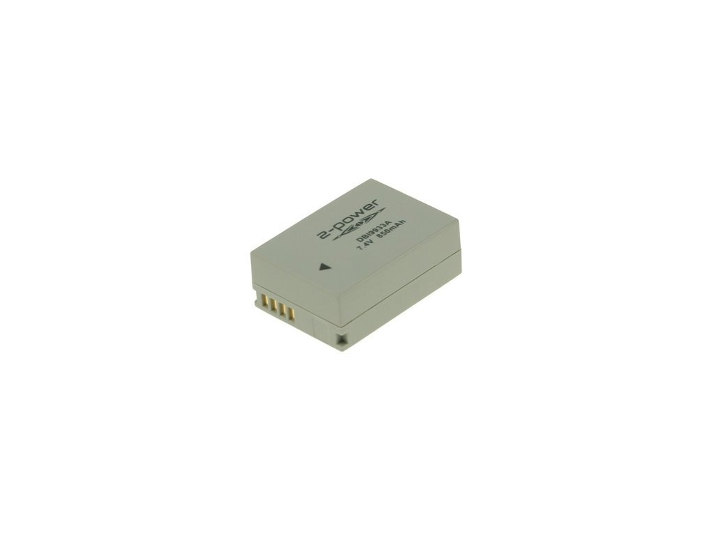2-Power DBI9933A, 7,4 V 1050 mAh, Lithium ion neoriginální