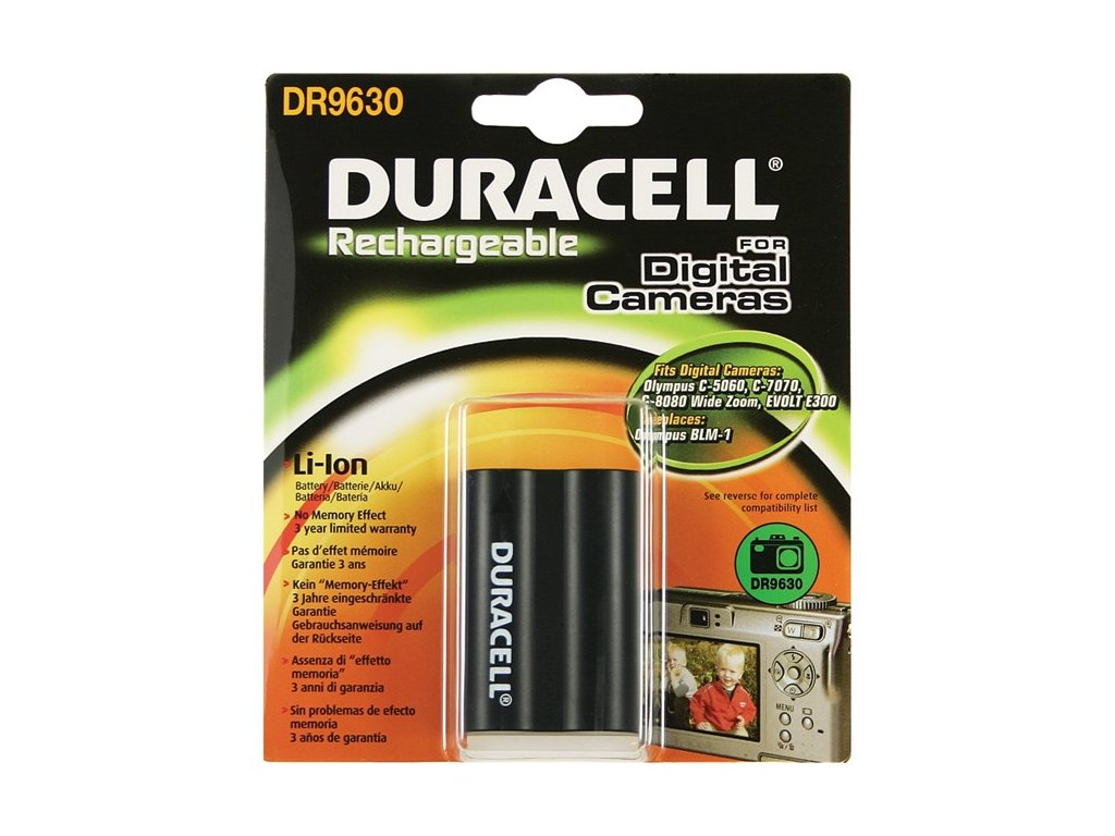 Duracell DR9630, 7,4 V 1600 mAh, Lithium ion