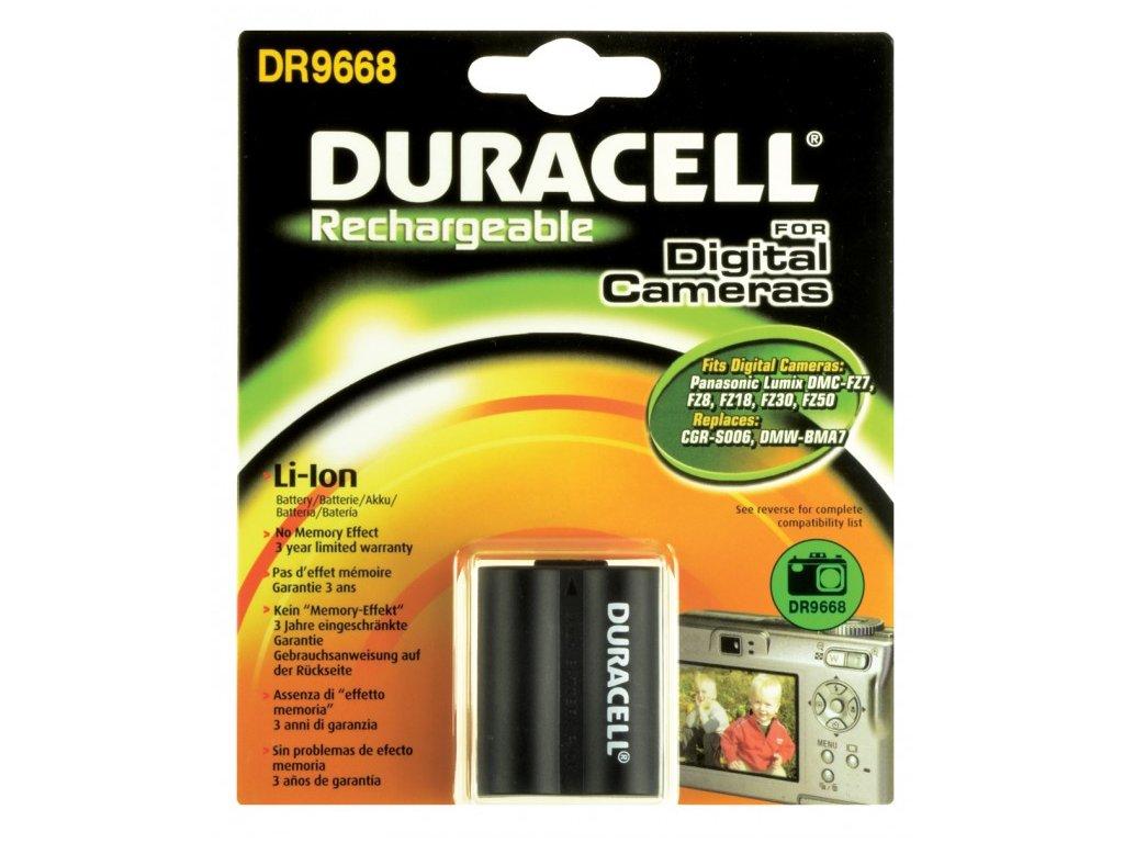 Duracell DR9668, 7,4 V 750 mAh, Lithium ion