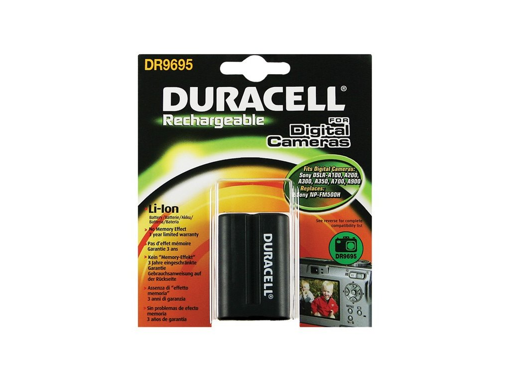 Duracell DR9695, 7,4 V 1600 mAh, Lithium ion