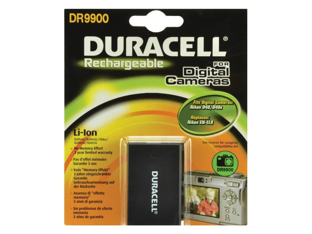 Duracell DR9900, 7,4 V 1100 mAh, Lithium ion