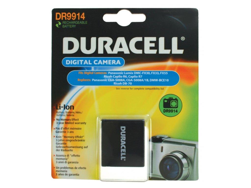 Duracell DR9914, 3,7 V 720 mAh, Lithium ion