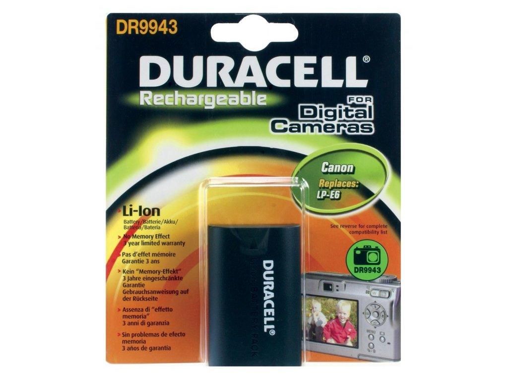 Duracell DR9943, 7,4 V 1600 mAh, Lithium ion