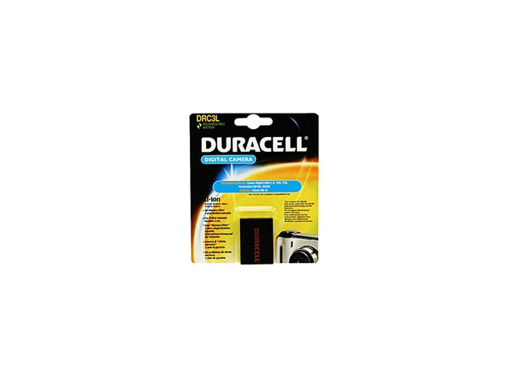 Duracell DRC3L, 3,7 V 820 mAh, Lithium ion