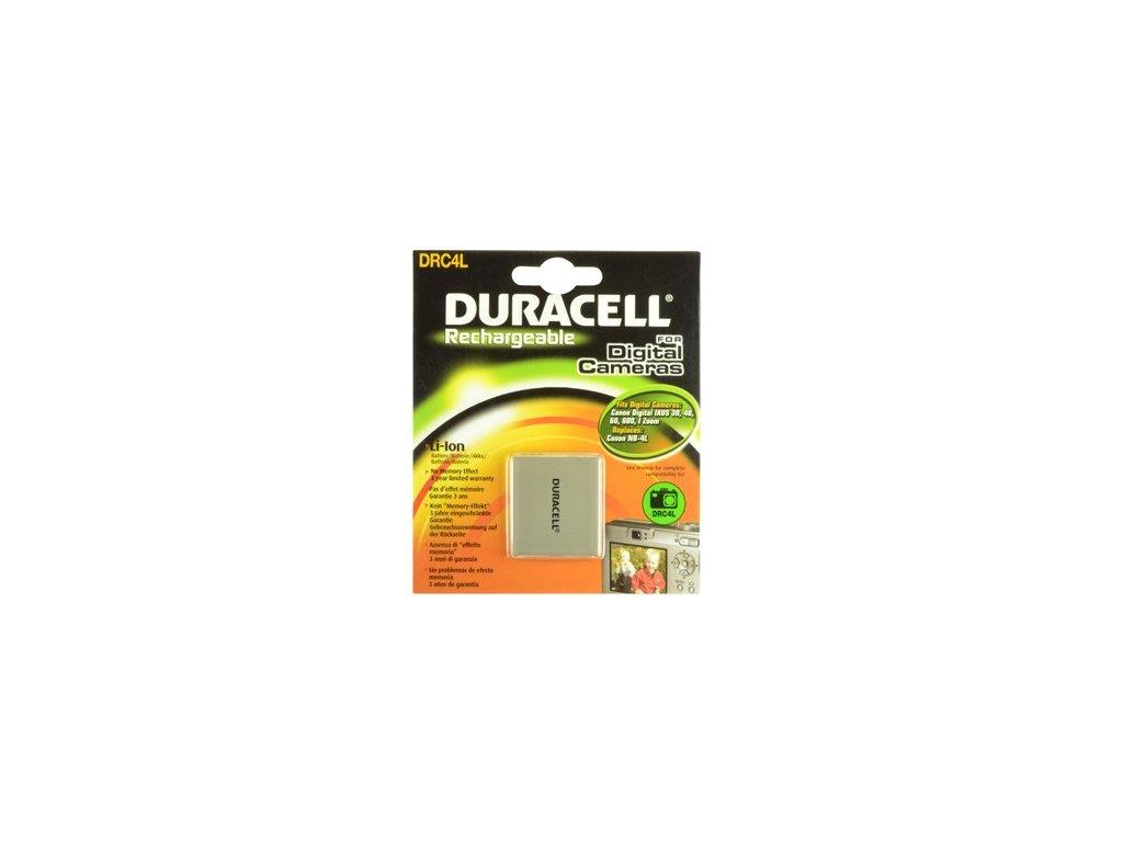 Duracell DRC4L, 3,7 V 720 mAh, Lithium ion