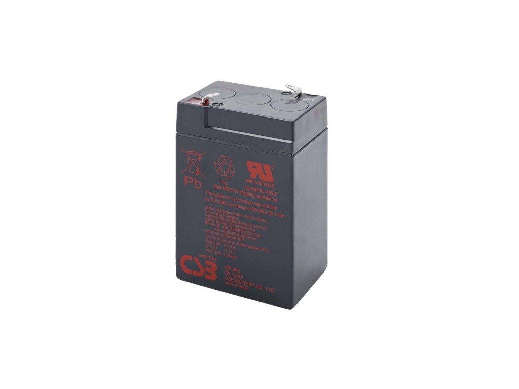 Baterie CSB GP645, 6V, 4,5Ah