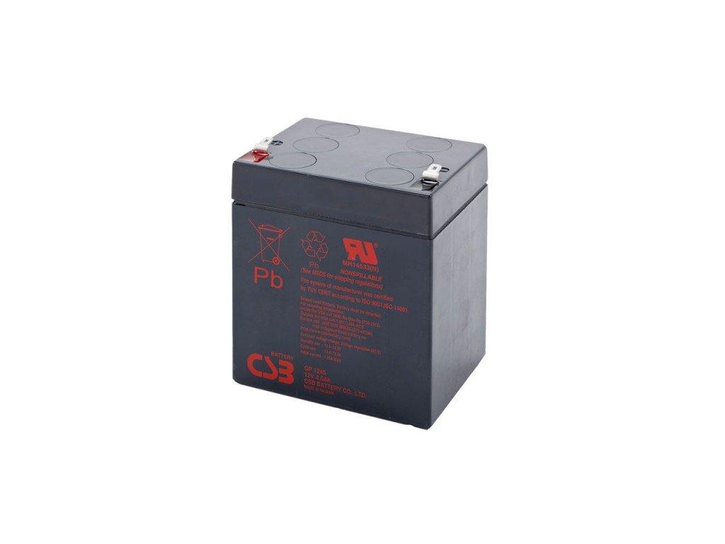 Baterie CSB GP1245 F1, 12V, 4,5Ah