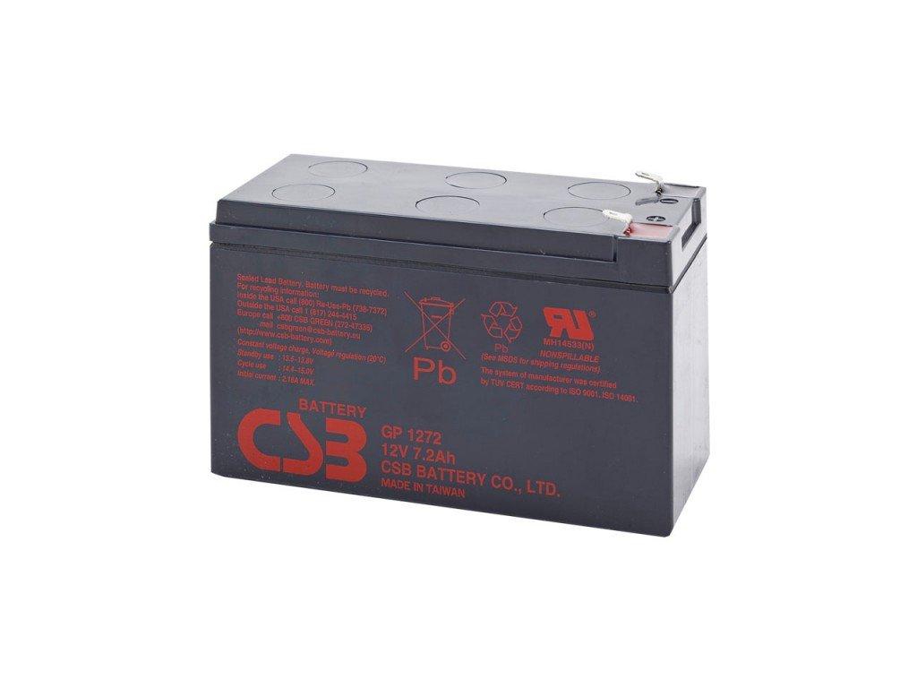 Baterie CSB GP1272, 12V, 7,2Ah