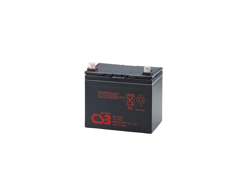 Baterie CSB GP12340, 12V,  34Ah