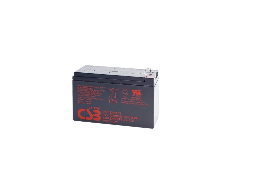 Baterie CSB HR1234W F2, 12V,  9Ah