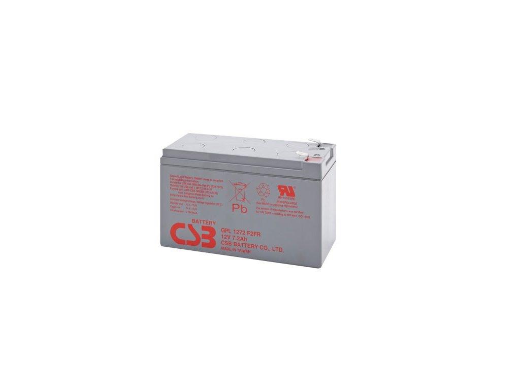 Baterie CSB GPL1272 F2, 12V, 7,2Ah