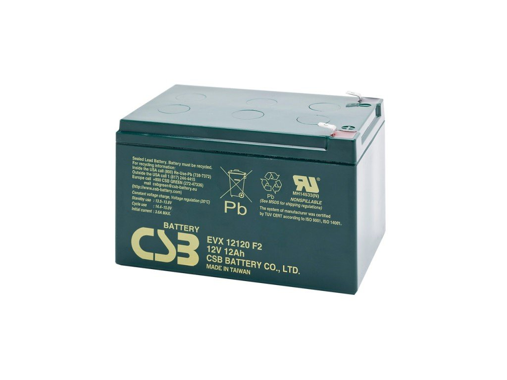 Baterie CSB EVX12120 F2, 12V,  12Ah