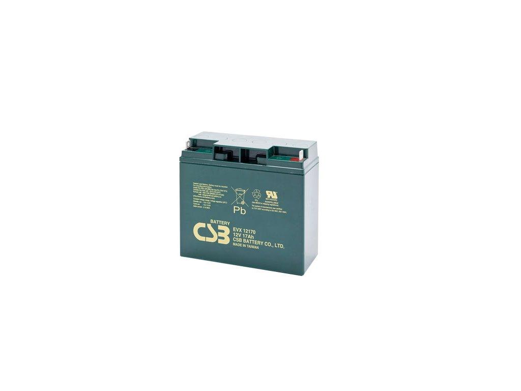 Baterie CSB EVX12170, 12V,  17Ah