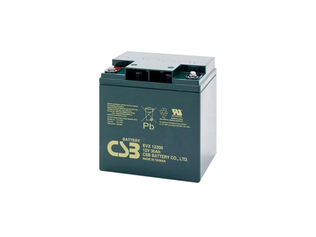 Baterie CSB EVX12300, 12V,  30Ah
