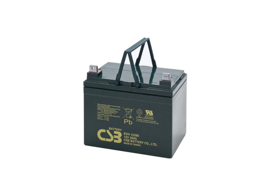 Baterie CSB EVH12390, 12V,  39Ah