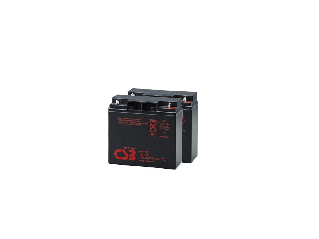CSB baterie APC RBC7 (2ks CSB GP12170) - neoriginální