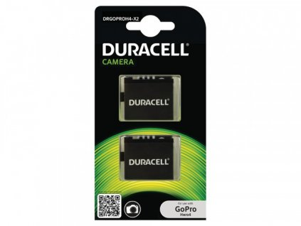 Duracell DRGOPROH4-X2 (Pack of 2), 3,8 V 1160 mAh, Lithium ion neoriginální