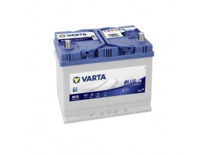 Autobaterie VARTA Blue Dynamic EFB 72Ah, 12V, N72