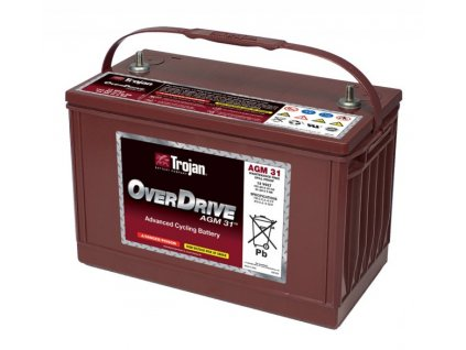 Duální baterie Trojan OverDrive AGM31, 102Ah, 12V