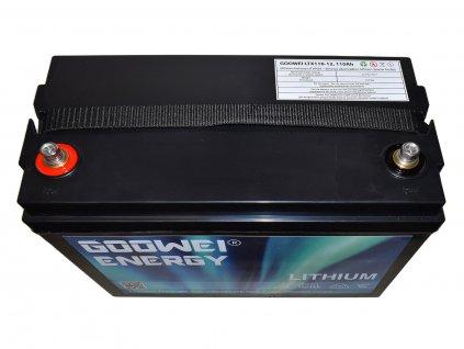 Trakční (LiFePO4) baterie GOOWEI ENERGY LITHIUM LTX110-12, 110Ah, 12V s BMS