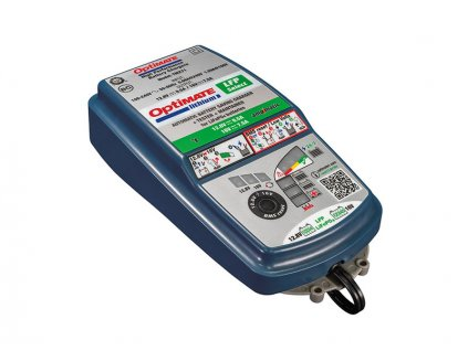 TECMATE automatická nabíječka OPTIMATE Lithium LFP select, 12.8/16V LiFePO4