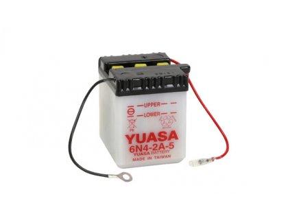 Motobaterie YUASA (originál) 6N4-2A-5, 6V, 4Ah