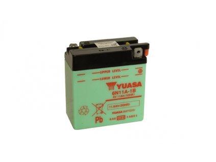 Motobaterie YUASA (originál) 6N11A-1B, 6V, 11Ah