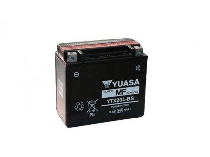 Motobaterie YUASA (originál) YTX20L-BS, 12V,  18Ah