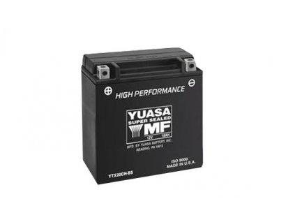 Motobaterie YUASA (originál) YTX20CH-BS, 12V,  18Ah