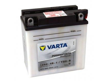 Motobaterie VARTA  12N9-4B-1 / YB9-B, 9Ah, 12V