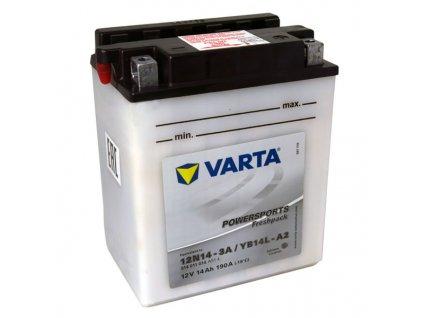 Motobaterie VARTA  YB14L-A2, 14Ah, 12V / 12N14-3A