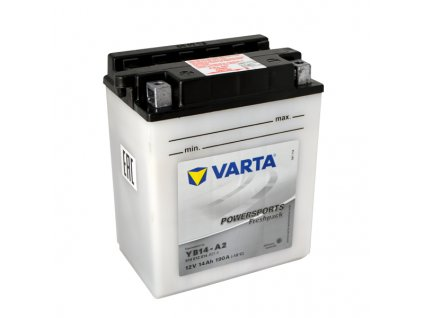 Motobaterie VARTA  YB14-A2, 14Ah, 12V