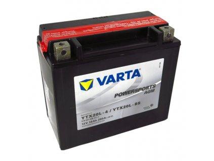 Motobaterie VARTA  YTX20L-BS, 18Ah, 12V