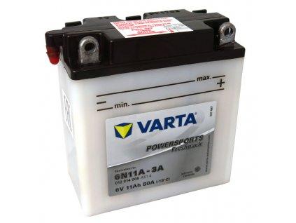 Motobaterie VARTA  6N11A-3A, 11Ah, 6V