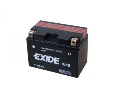 Motobaterie EXIDE ETZ12-BS, 12V, 11Ah, 205A