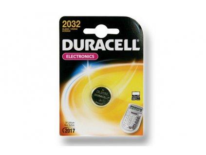 DURACELL knoflíkový článek 3V, CR2032 (DL2032)
