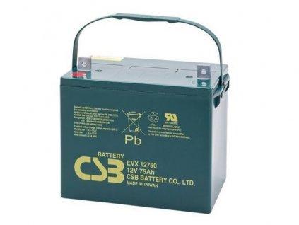 Baterie CSB EVX12750, 12V, 75Ah