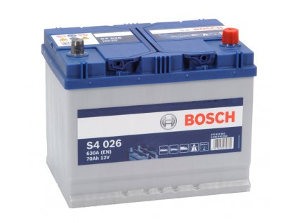 Autobaterie BOSCH S4 026, 70Ah, 12V (0 092 S40 260)