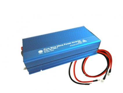 Měnič napětí FST SPI 12060E, DC12V / AC230V, 600W, čistá sinusoida