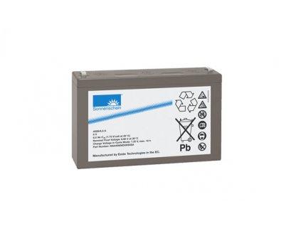 Gelový trakční akumulátor SONNENSCHEIN A506/10 S, 6V, 10Ah